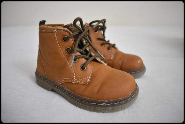 Buty dla chłopca rozmiar 23 wkładka 15 cm stan bdb