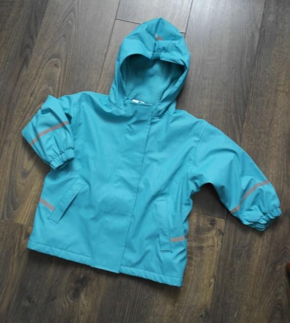 Dla dziewczynki przeciw deszczowa kurtka 86 92