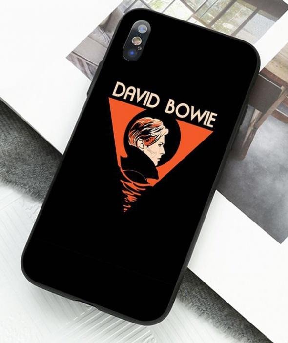 DAVID BOWIE case etui pokrowiec TPU na iPhone X 10 w folii NOWY