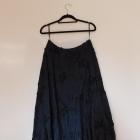 Phase Eight czarna długa rozkloszowana spódnica 42