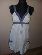 Sukienka Biel i błękit...