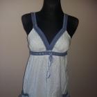 Sukienka Biel i błękit