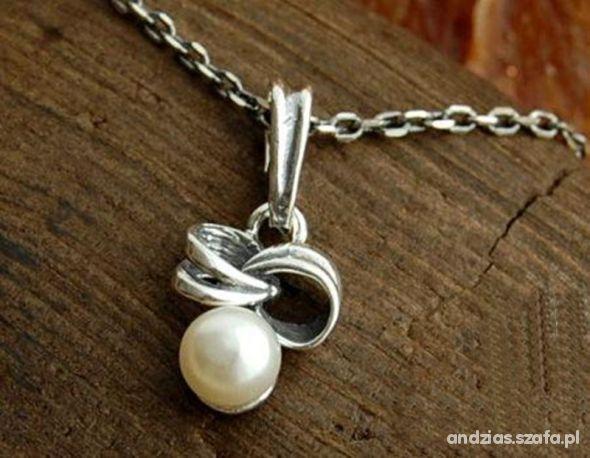 SILVES srebrna zawieszka z perłą