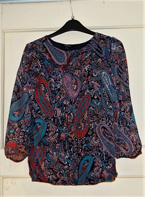 Bluzki Bluzka w kwiaty greenpoint S