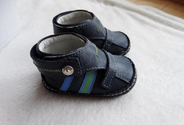 Skórzane buciki niemowlęce Bartek