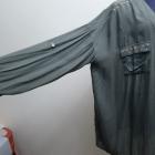 Śliczna koszula podwijanym odwijanym rękawem