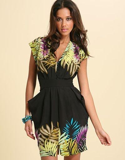 Suknie i sukienki WAREHOUSE SUKIENKA 100 JEDWAB SILK TULIPAN OŁÓWEK