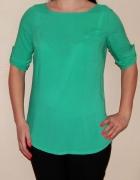 Zielona M L koszula tunika klasyczna Carry...