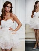 Śliczna sukienka z falbankami Firmy Lipsy London 3...