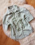 Koszula w paski Żabot 42...