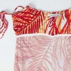 Bershka piękna koszulka tunika na ramiączka parisian