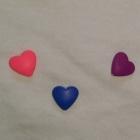 Nowt komplecik w serduszka biała bluzeczka i getry leginsy serca 92 98