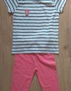 Nowy komplecik dla dziewczynki bluzeczka i getry k...