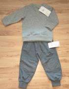 Nowe dresy dla chłopca bluza i spodnie dresowe 86...