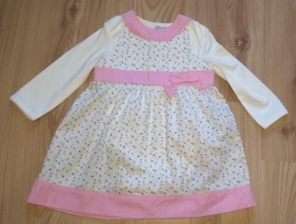 Nowa sukienka dzieczęca z bodami wyjściowa komplet 86