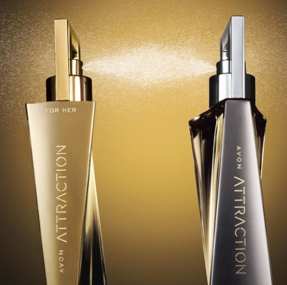 Perfumy ATTRACTION 50 ml AVON WODA PERFUMOWANA dla NIEJ