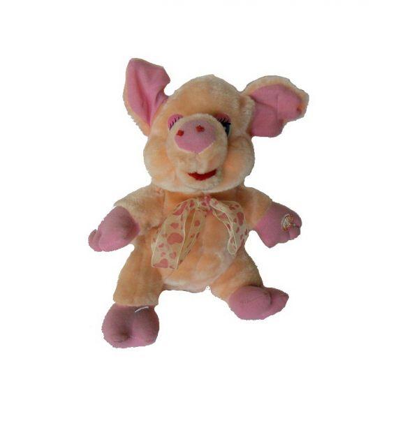 Zabawki Świnka różowa maskotka