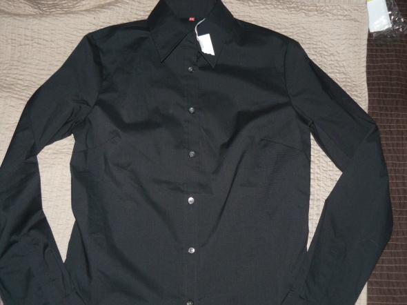 Nowa czarna koszula S