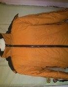 Kurtka czarno pomarańczowa
