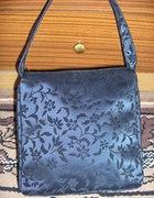 Przepiękna torebka czarna Floral...