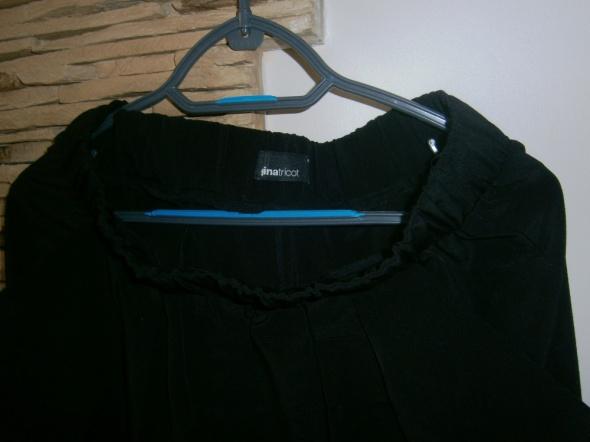 czarne spodnie alladynki na gumce gina tricot 40...