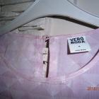 bluzka w kolorze bladego różu Vero Moda