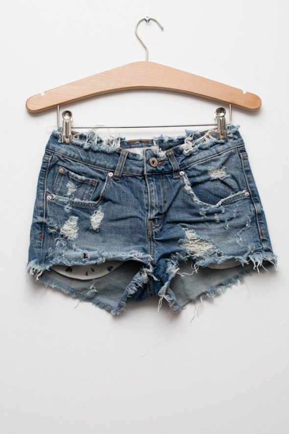Spodenki ZARA jeansowe spodenki szorty krótkie sexi