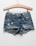 ZARA jeansowe spodenki szorty krótkie sexi...