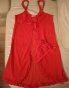 Seksowny czerwony komplet C&A...