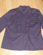 Nowa fioletowa bluzka na suwak dla puszystej 46 48...