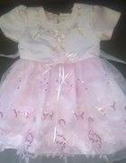 Różowa sukieneczka dla księżniczki