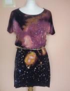 Swietna sukieneczka prosty fason...