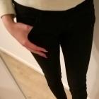 Nowe z metkami Czarne spodnie Pull&Bear