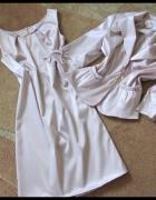 Śliczny komplet sukienka z marynarką rozmiar 40...