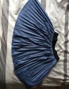 Niebieska plisowana spódniczka House...