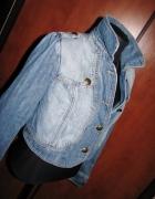 Świetna jeansowa cieniowana katana Esprit...