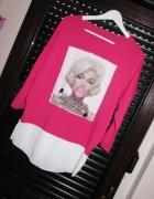 Nowa piękna zmysłowa tunika buzka MM różowa