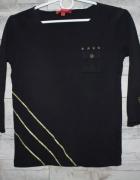 Czarna bluzka Mexx militarna...