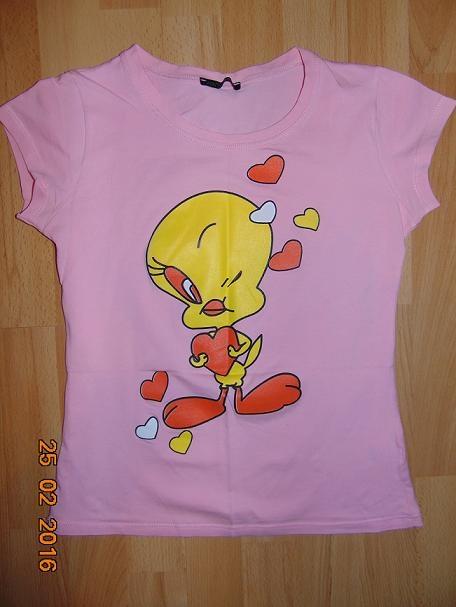 Bluzki bluzka z motywem serc XS S
