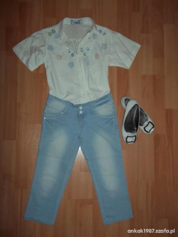 Spodenki Rybaczki jeansowe nowe