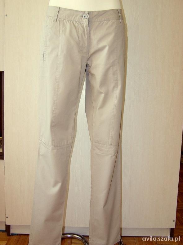 Spodnie Spodnie Cygaretki Nude Vila M 38