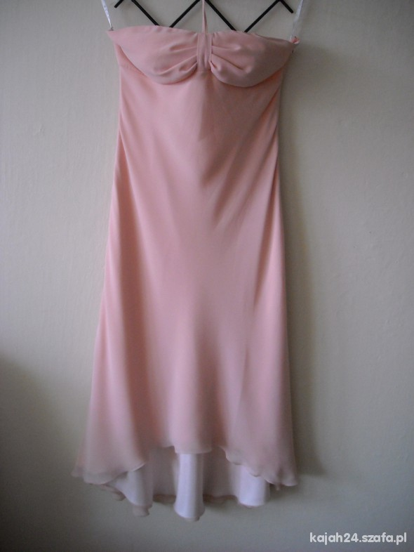 Suknia łososiowa DUSK