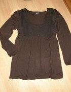 GINA TRICOT tunika odcinana sweterowy przód XL