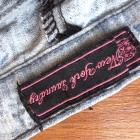 Rurki marmurki koronka dziury modne używane uszkod