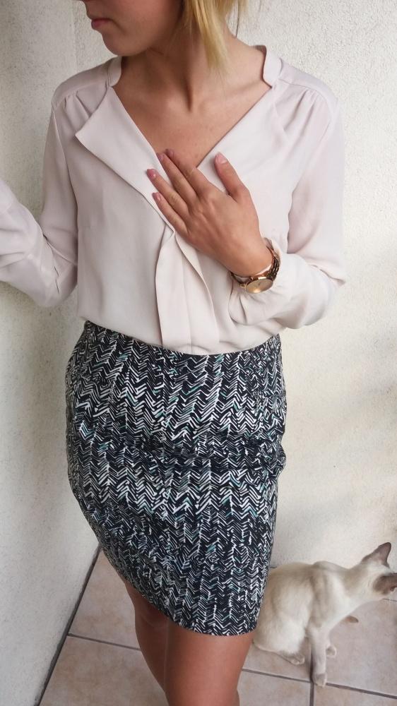 Spódnice CA spódniczka w mazaje mini