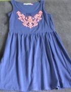 Sukienka niebieska House...