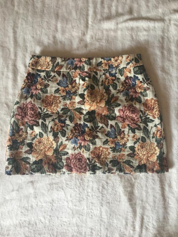Spódnice Spódniczka wiosenna Zara