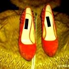 Platformy Orange Ćwieki Piękne