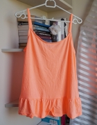 Neonowa koszulka na ramiączka Cubus M...