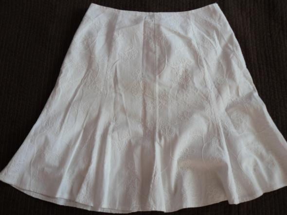 Spódnice Biała spódnica z podszewka 42
